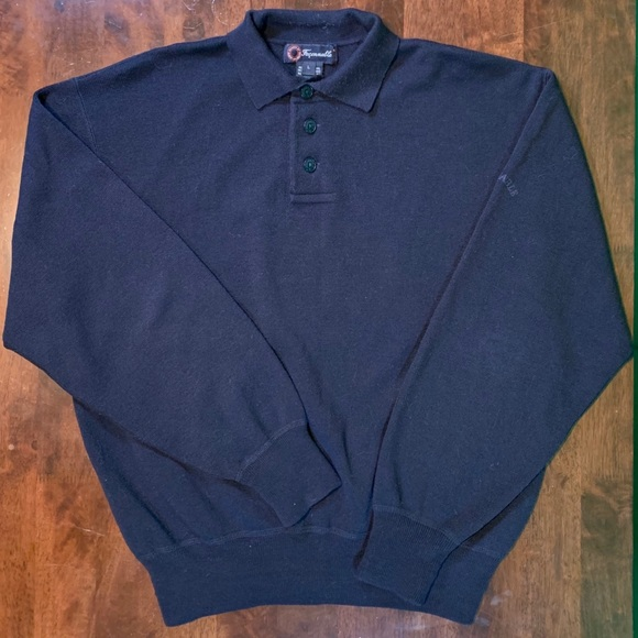 Faconnable Other - ⚡️Faconnable wool long sleeve polo